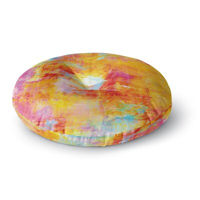Ebi Emporium off the Grid Round Floor Pillow Size: 23 x 23