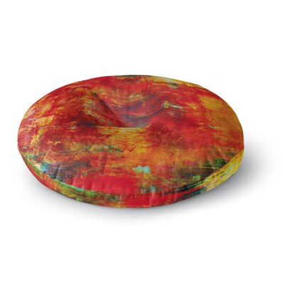 Ebi Emporium Autumn Harvest Round Floor Pillow Size: 26 x 26