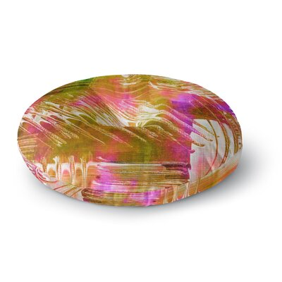 Ebi Emporium Flamenco Moves Round Floor Pillow Size: 26 x 26