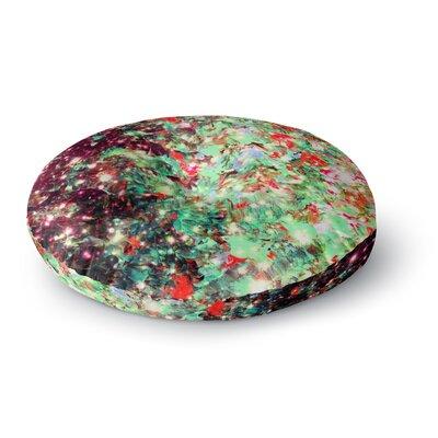 Ebi Emporium Mistletoe Nebula Round Floor Pillow Size: 26 x 26