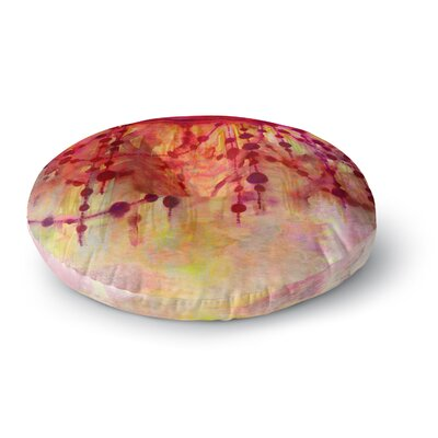 Ebi Emporium Prismacolor Pearls Round Floor Pillow Size: 23 x 23