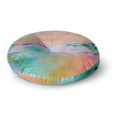 Ebi Emporium Something About the Sea 4 Round Floor Pillow Size: 23 x 23