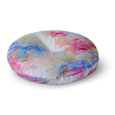 Ebi Emporium Whispered Song 1 Round Floor Pillow Size: 26 x 26