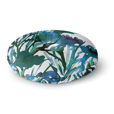 Ebi Emporium Petal for Your Thoughts Round Floor Pillow Size: 23 x 23