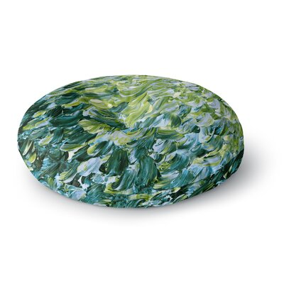 Ebi Emporium Frosted Feathers 3 Round Floor Pillow Size: 26 x 26