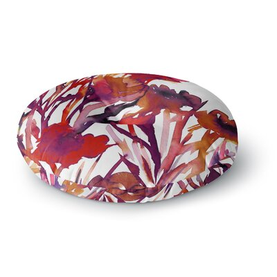 Ebi Emporium Pocket Full of Posies Round Floor Pillow Size: 23 x 23