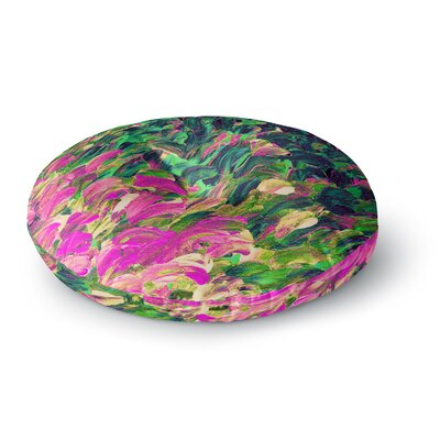 Ebi Emporium Follow the Current 4 Round Floor Pillow Size: 26