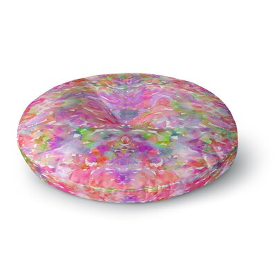 Ebi Emporium Jewel in the Crown Round Floor Pillow Size: 26 x 26