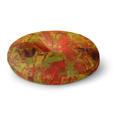 Jeff Ferst Autumn Round Floor Pillow Size: 23 x 23