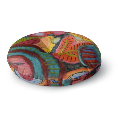 Jeff Ferst Tropic Delight Round Floor Pillow Size: 23 x 23