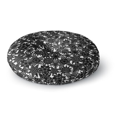 Julia Grifol My Dreams Round Floor Pillow Size: 26 x 26