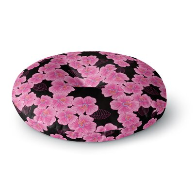 Julia Grifol Round Floor Pillow Size: 23 x 23