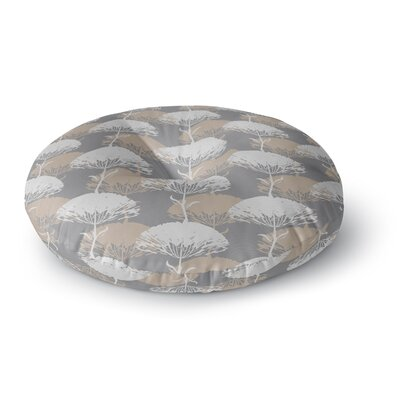 Julia Grifol Charming Tree Round Floor Pillow Size: 26 x 26
