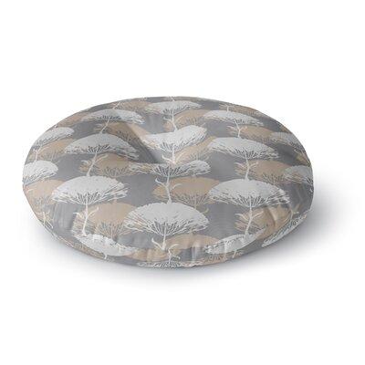 Julia Grifol Charming Tree Round Floor Pillow Size: 23 x 23
