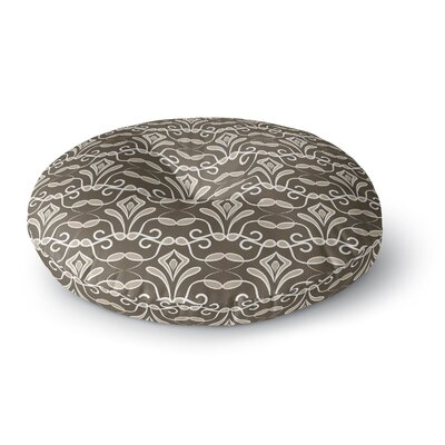 Julia Grifol Deco Round Floor Pillow Size: 23 x 23