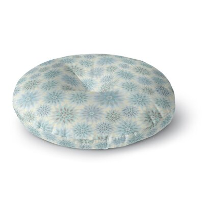 Julia Grifol My Delicate Flowers Round Floor Pillow Size: 26 x 26