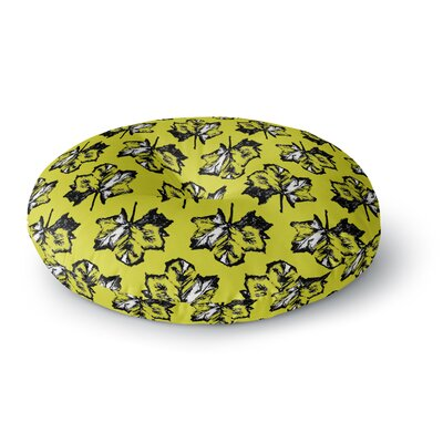 Julia Grifol Tree Leaves Round Floor Pillow Size: 23 x 23