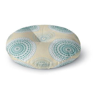 Julia Grifol Soft Mandalas Round Floor Pillow Size: 26 x 26