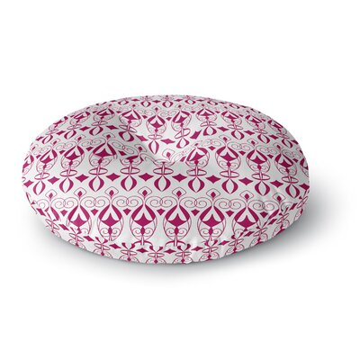 Julia Grifol Warm Deco Round Floor Pillow Size: 23 x 23