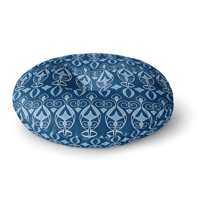 Julia Grifol Deco Round Floor Pillow Size: 26 x 26
