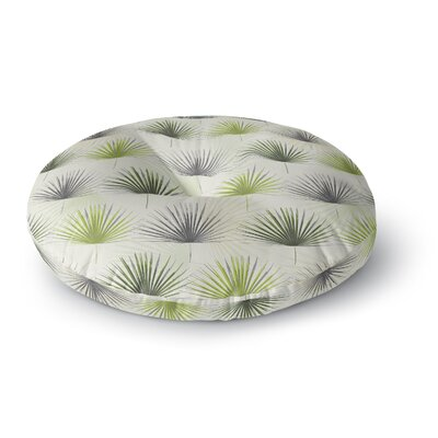 Julia Grifol My Holidays Time Round Floor Pillow Size: 23 x 23