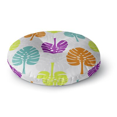 Julia Grifol Tropico Round Floor Pillow Size: 26