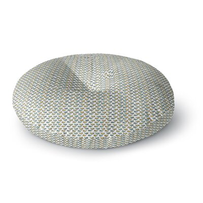 Julie Hamilton Spring Stem Round Floor Pillow Size: 23 x 23