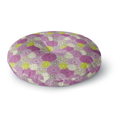 Julie Hamilton Rhapsody Round Floor Pillow Size: 23 x 23