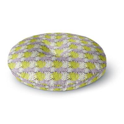 Julie Hamilton Zinnia Round Floor Pillow Size: 23 x 23