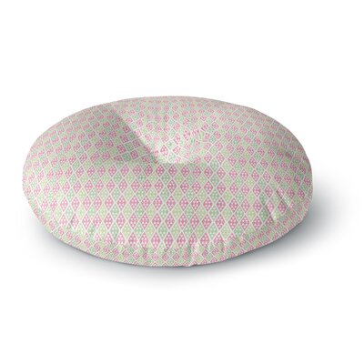 Julie Hamilton Woven Wrap Round Floor Pillow Size: 23 x 23