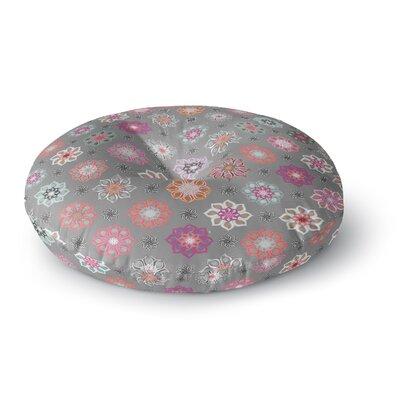 Jolene Heckman Mini Floral Round Floor Pillow Size: 26 x 26