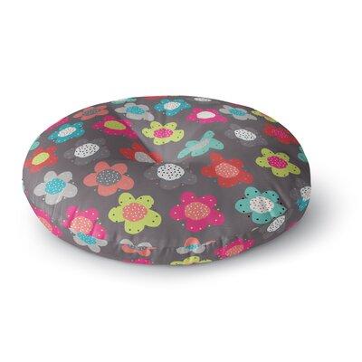 Jolene Heckmen Sunny Days Round Floor Pillow Size: 26 x 26