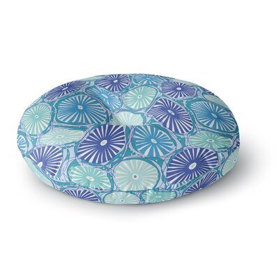 Jacqueline Milton Sea Round Floor Pillow Size: 26 x 26