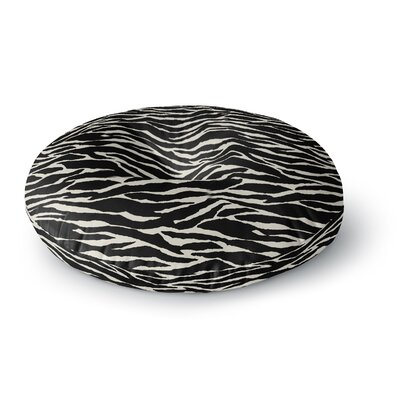 Jacqueline Milton Safari Mixed Media Round Floor Pillow Size: 26 x 26