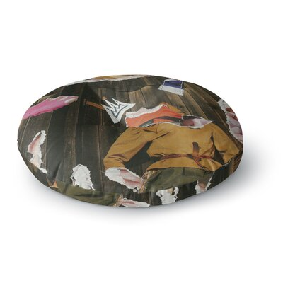Jina Ninjjaga Autumn Pop Art Round Floor Pillow Size: 23 x 23