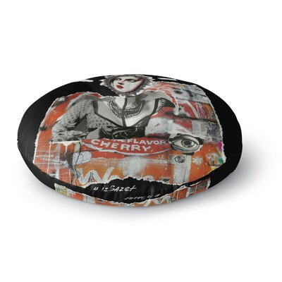 Jina Ninjjaga Anarchy Round Floor Pillow Size: 26 x 26