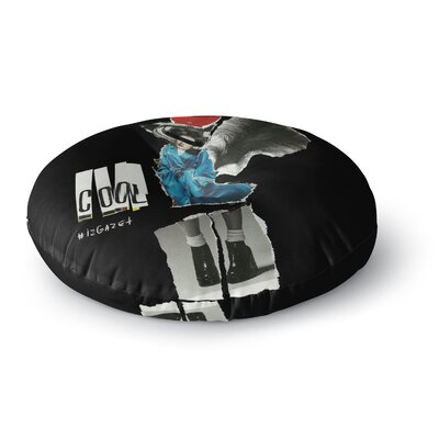 Jina Ninjjaga Cool Round Floor Pillow Size: 26 x 26