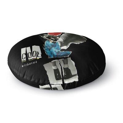 Jina Ninjjaga Cool Round Floor Pillow Size: 23 x 23