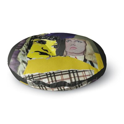 Jina Ninjjaga Cosmo Illustration Round Floor Pillow Size: 23 x 23