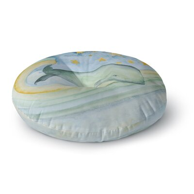 Jennifer Rizzo Swimming With The Stars Illustration Animals Round Floor Pillow Size: 23 x 23