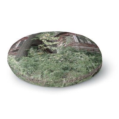 Jennifer Rizzo Rustic Cabins Photography Round Floor Pillow Size: 23 x 23