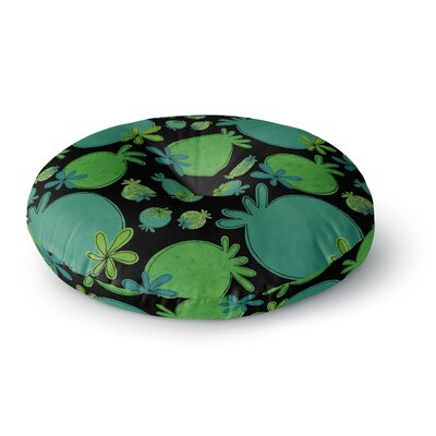 Jane Smith Garden Pods Round Floor Pillow Size: 26 x 26