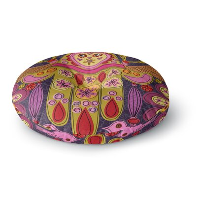 Jane Smith Indian Jewelry Round Floor Pillow Size: 26 x 26