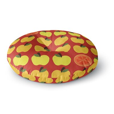 Jane Smith Seasons Autumn Round Floor Pillow Size: 26 x 26