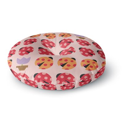 Jane Smith Seasons Spring Round Floor Pillow Size: 23 x 23
