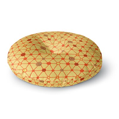 Jane Smith Vintage Playground Round Floor Pillow Size: 26 x 26