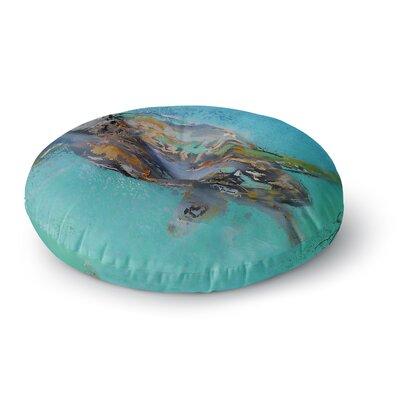 Josh Serafin Daddy Round Floor Pillow Size: 26 x 26