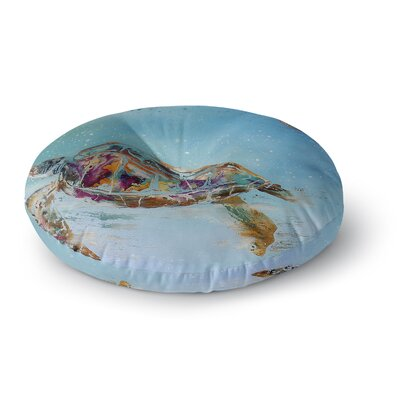 Josh Serafin Home Sweet Home Round Floor Pillow Size: 23 x 23