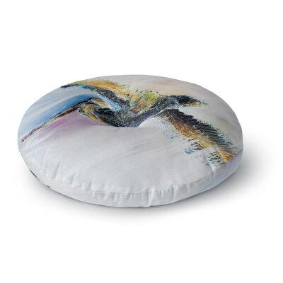 Josh Serafin Overhead Round Floor Pillow Size: 23 x 23