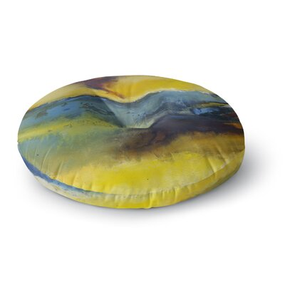 Josh Serafin Sano Round Floor Pillow Size: 26 x 26